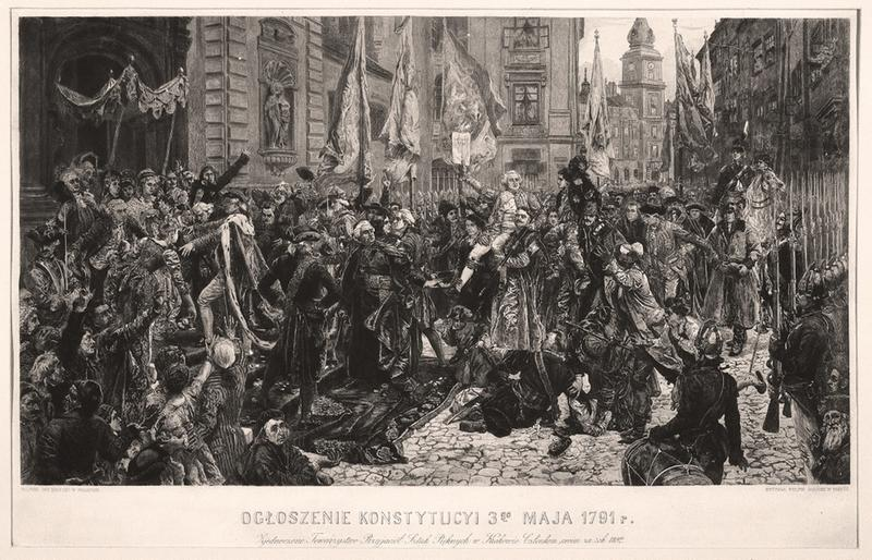 Znalezione obrazy dla zapytania konstytucja 3 maja