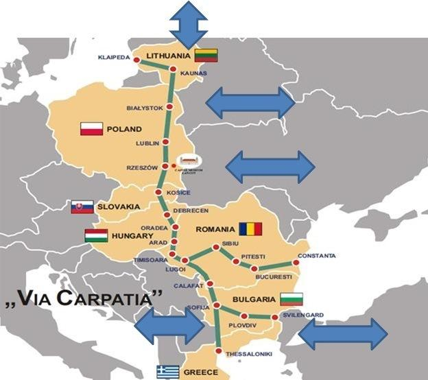 Highway From Rzeszow To Budapest Via Carpathia Under Construction
